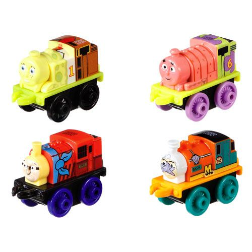 Spongebob Minis 4 PK - Thomas Minis