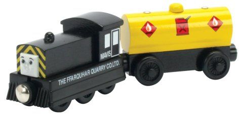Mavis and Fuel Car - Thomas Wooden