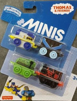 DC Superheroes 4 Pack #7 - Thomas Minis