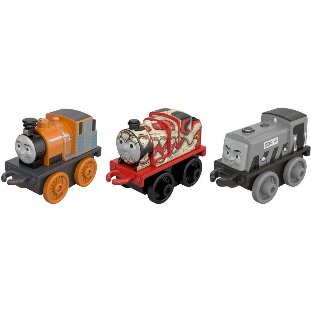 3 Pk Minis - Classic Dash,Old School Scruff and Dino James