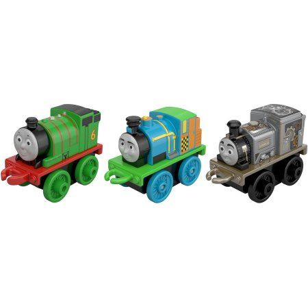 3 Pk Minis - Neon Bash,Robo Charlie and Classic Percy