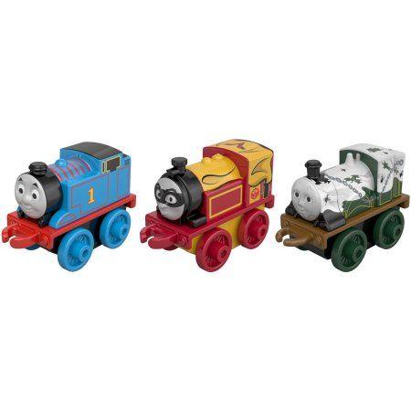 3 Pk Minis - Classic Thomas , Spooky Emily , Hero Victor - Thomas Minis