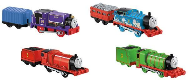 Really Useful Engine Pack ( including Steam and Spark Thomas ) - Trackmaste