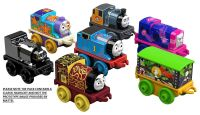 2017 7Pk  - Starfish Thomas , Night Time Victor ,Jellyfish Iron Bert ,Cargo Car Snake  , Skarloey,Bash , Thomas - Thomas Minis