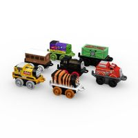 2017 7Pk  - Construction Thomas, Tiger Percy,Alien Paxton ,Cargo Car Fossil ,Clarabel , Flynn and Hiro -  Thomas Minis
