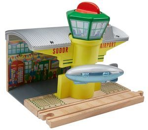 Sodor Airship Hangar - Thomas Wooden