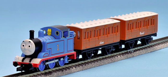 Thomas and Annie and Clarabel - N Gauge - Tomix
