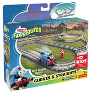 Curves and Straights Track Pack - Thomas Adventures