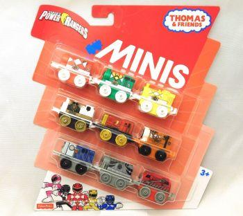 Power Rangers Minis 9 pack - Thomas Minis