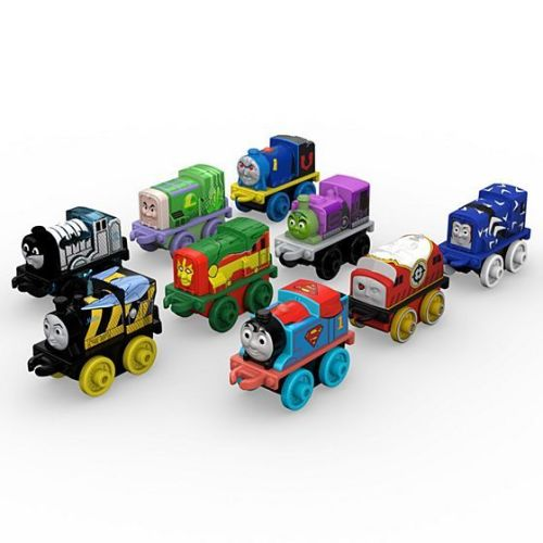 DC Superheroes 9 Pack 2017 #2 - Thomas Minis