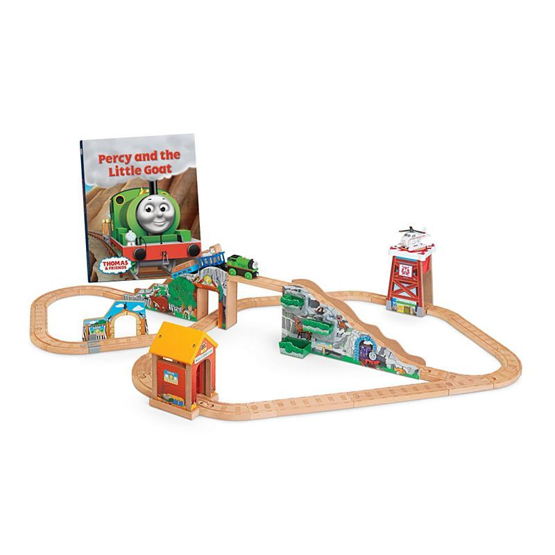Percy and the Little Goat Set - Thomas Wooden