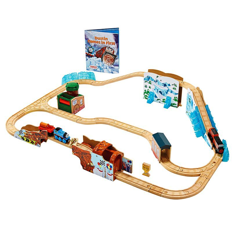 Dustin Comes In First Playset - THomas Wooden