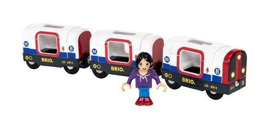 Tube Metro Train - Battery Light and Sound - Brio