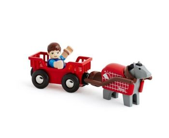 Horse and Wagon - Brio