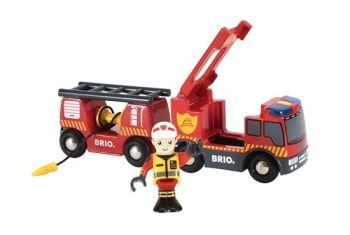 Emergency Fire Engine - Brio