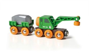 Clever Crane Wagon - Brio