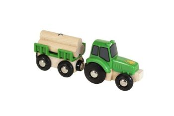 Tractor with Load - Brio