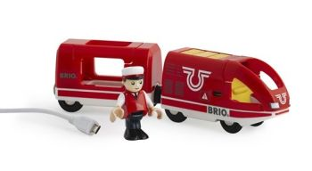 Rechargable Travel Train  - Brio