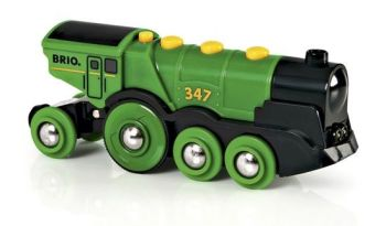 Big Green Action Locomotive  - Brio