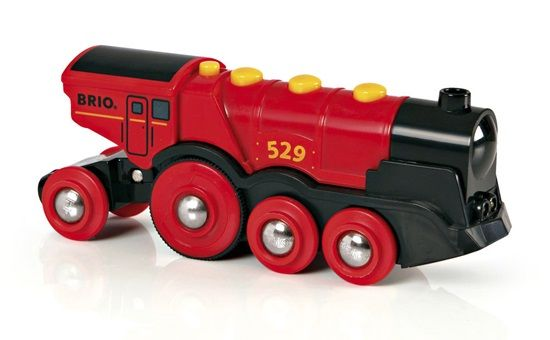 Mighty Red Action Locomotive - Brio