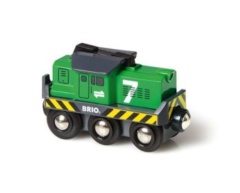 Battery Operated Freight Engine