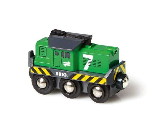 Battery Operated Freight Engine - Brio