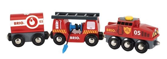 Rescue Fire Fighting Train - Brio