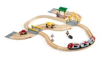 Rail and Road Travel Set - Brio