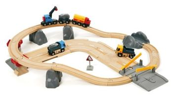 Rail and Road Loading Set - Brio