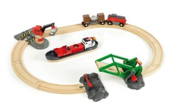 Cargo Harbour Set - Brio