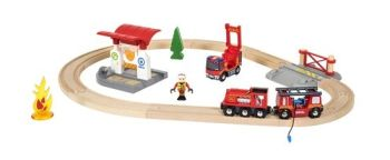 Rescue Fire Fighter Set  - Brio