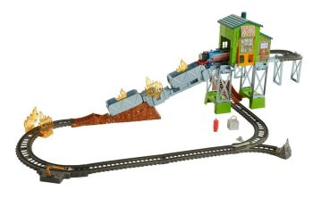 Fiery Rescue Set with Real Steam Thomas - Trackmaster Revolution