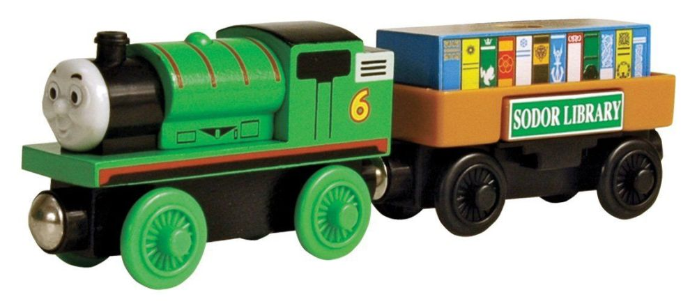 Percy & the Storybook Car - Thomas Wooden