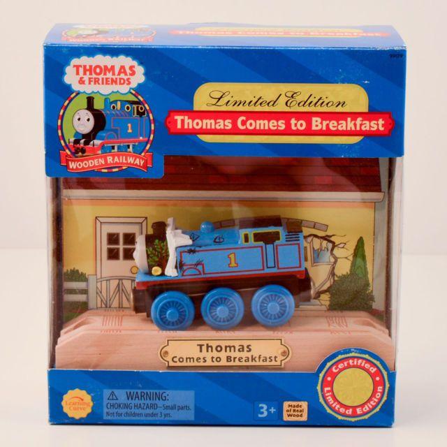 Thomas comes to Breakfast - Thomas Wooden