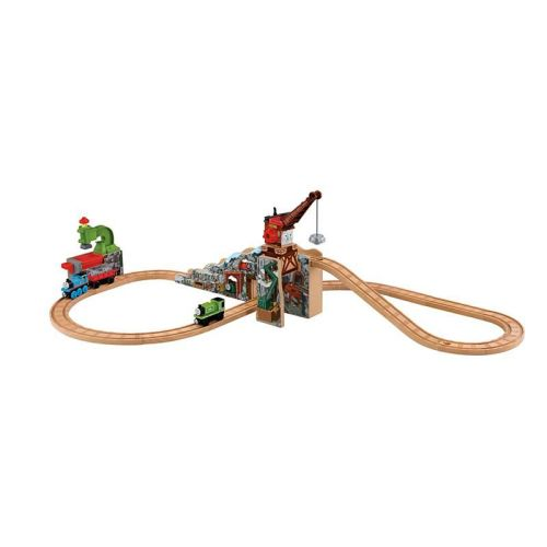 Merrick and the Rock Crusher Playset - Thomas Wooden