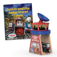 Dustin and the Sodor Storm Team Storybook - Thomas Wooden