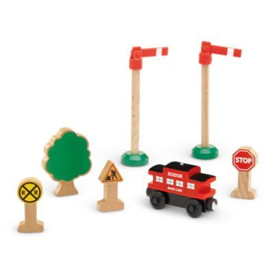 Wooden Railway Aceessory Bundle Pack - Thomas Wooden
