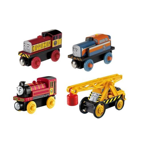 Steamies vs Diesels 4 Pack - Thomas Wooden