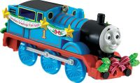 Thomas & Friends Tree Ornament with Seasons Greetings banner by Carlton 2015