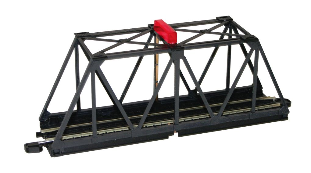 EZ Track Truss Bridge with Blinking Light - Bachmann