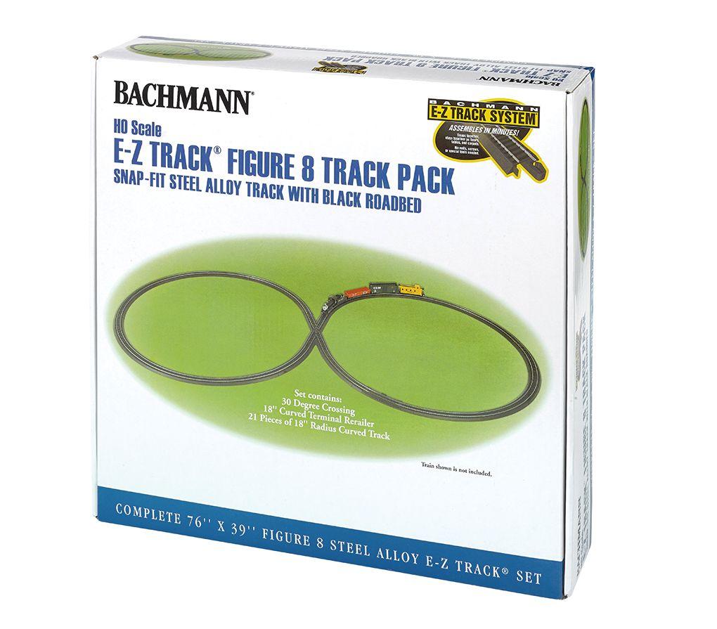 EZ Track Steel Figure 8 Track Pack - Bachmann