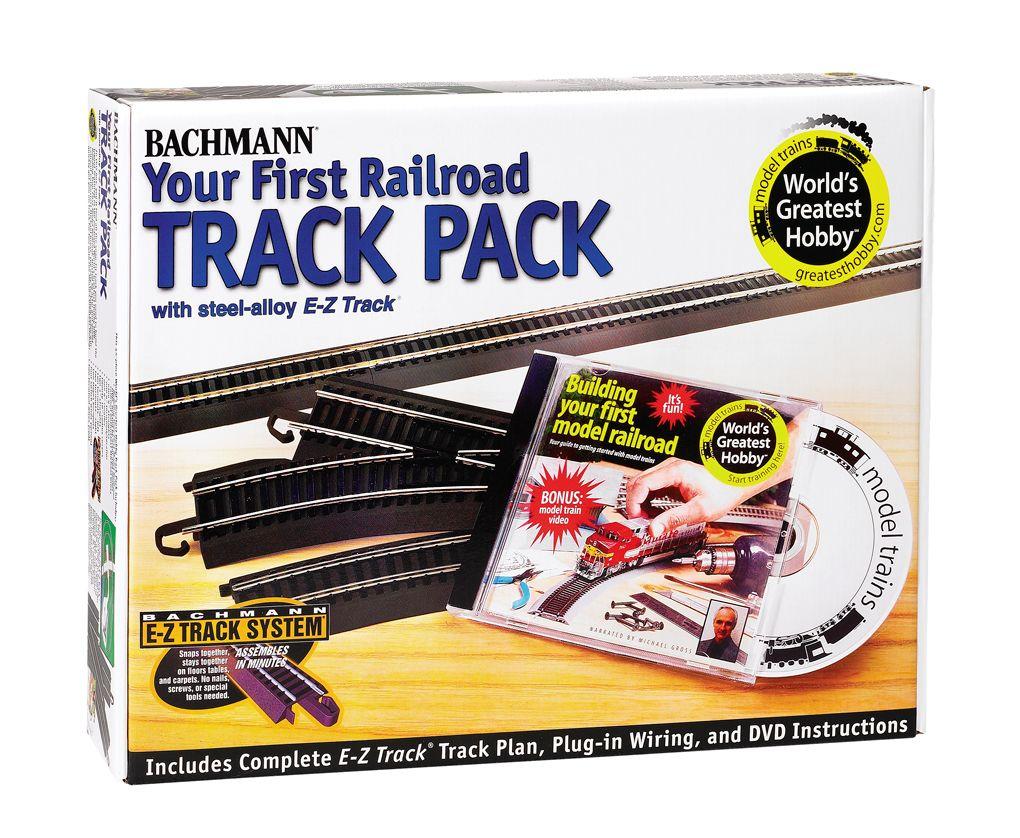 EZ Track Steel Worlds Greatest Hobby Track Pack - Bachmann