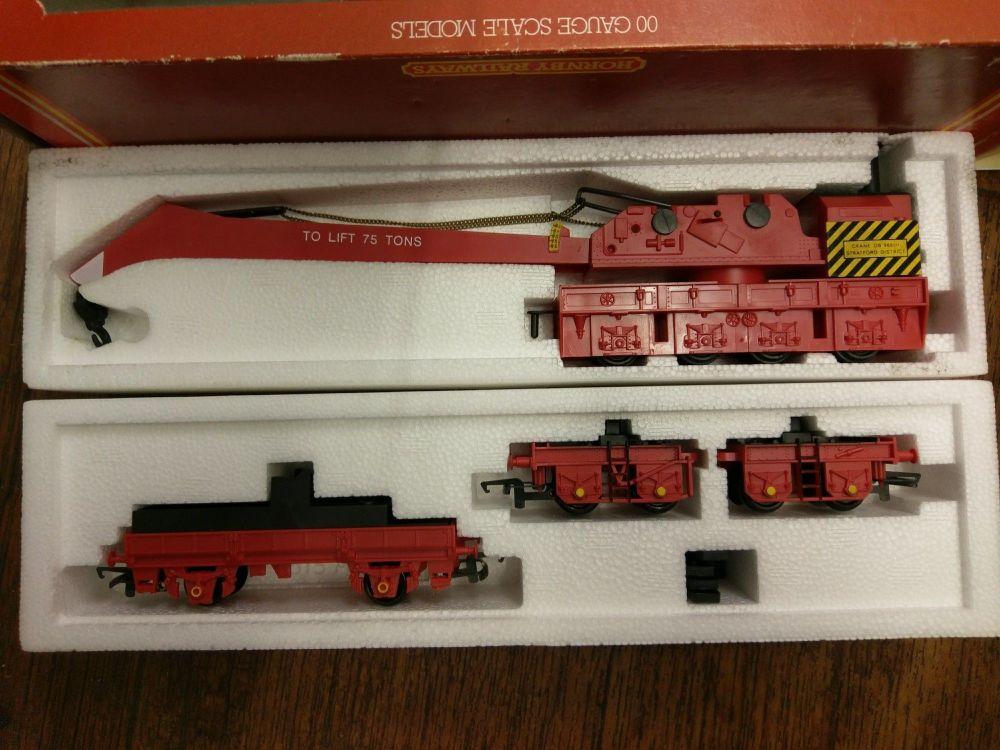 75 Ton Breakdown Crane Set - Hornby