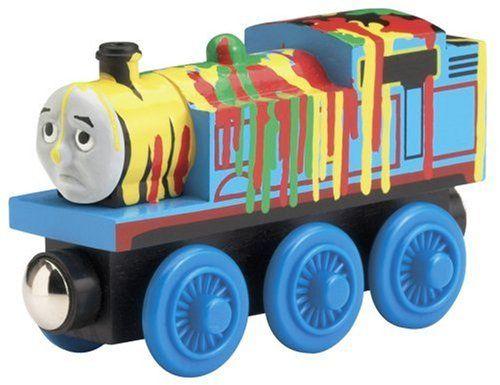 Thomas - Paint Splattered - Thomas Wooden