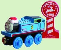 Christmas Thomas - Thomas Wooden