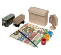 Paint and Play Depot Set - Thomas Wooden