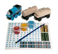 Paint and Play Thomas Set - Thomas Wooden
