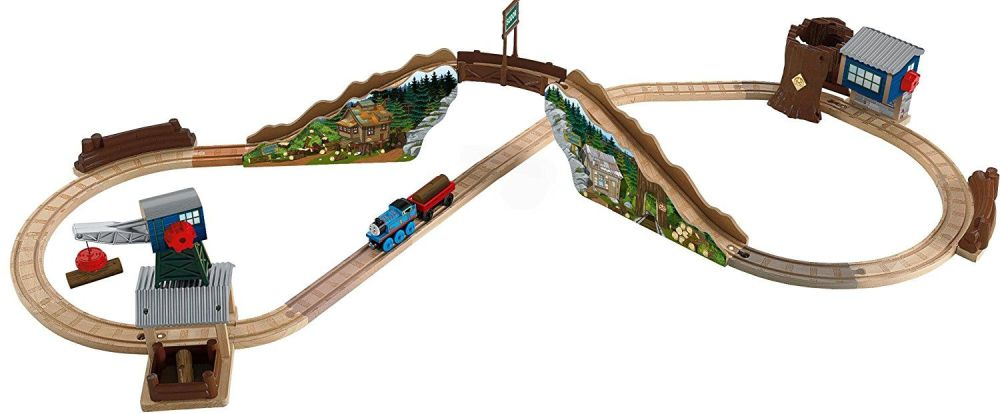 Tidmouth Timber Company Deluxe Figure 8 Set - Thomas Wooden