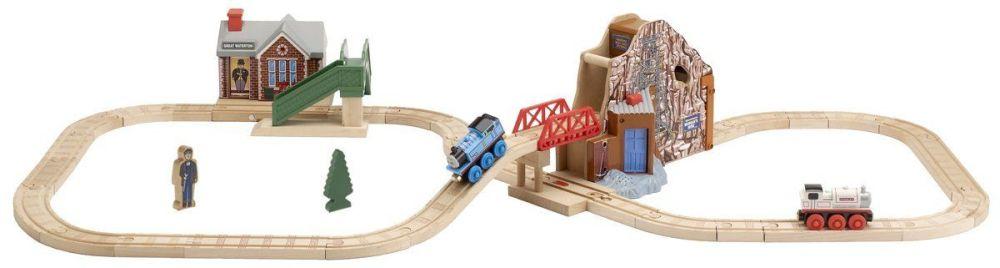 Great Discovery Talking Railway Set - Thomas Wooden