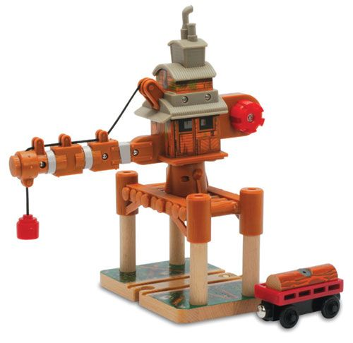Ol' Wheezy the Logging Crane - Thomas Wooden